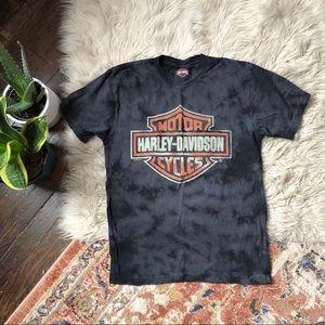 Harley Davidson Tie-Dye Graphic Tee